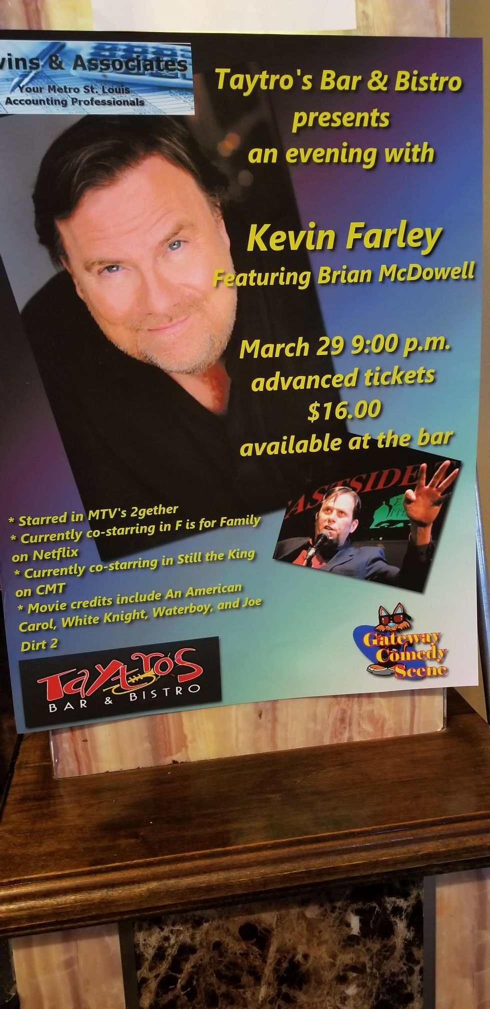 Comedy Show Starring Kevin Farley